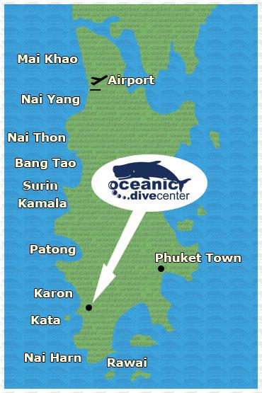 oceanic phuket map