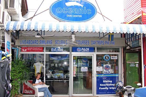 oceanic dive center phuket