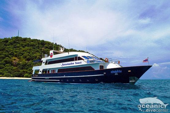 Sawasdee Fasai Liveaboard Boat Phuket