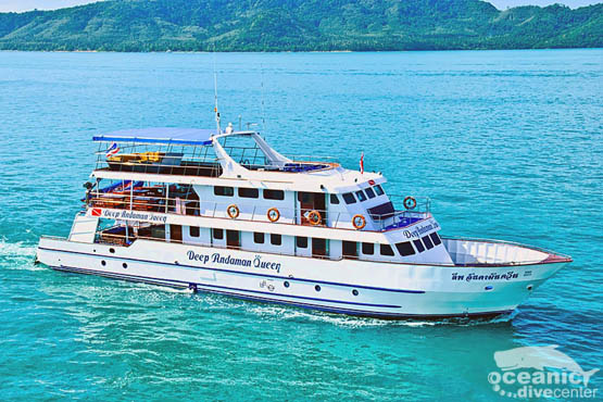 Similand Liveaboard andaman queen book now phuket