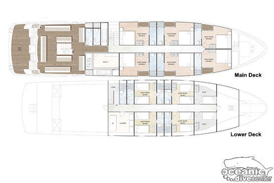 Lower Decks Layout