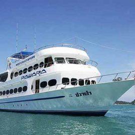 pawara liveaboard bookings phuket
