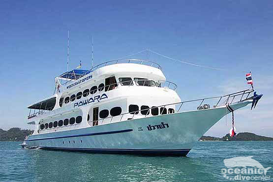 Pawara - one of the most popular liveaboards in the Similans