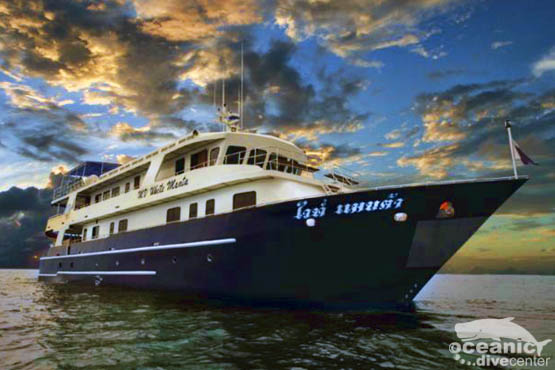 white manta liveaboard booking phuket