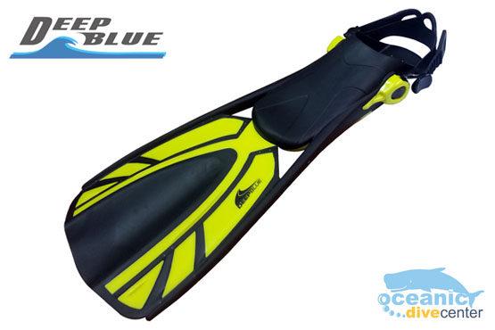 Deep Blue Snorkel Fins