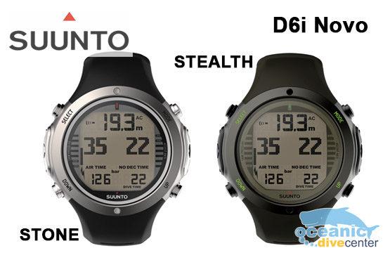 Suunto d6i novo stone stealth phuket