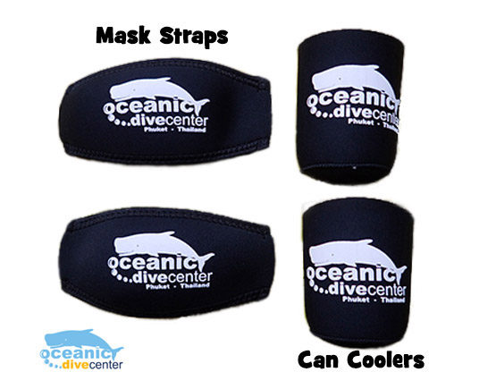 Oceanic Mask Straps Beer Coolers Phuket