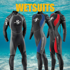 Wetsuits Phuket – Oceanic Dive Center