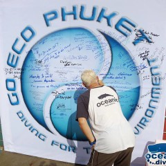 Go Eco Phuket – Reef Cleanup at Oceanic Dive Center