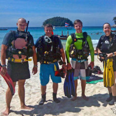 "Dive On Kata Beach ""House Reef"" With Oceanic Dive Center"
