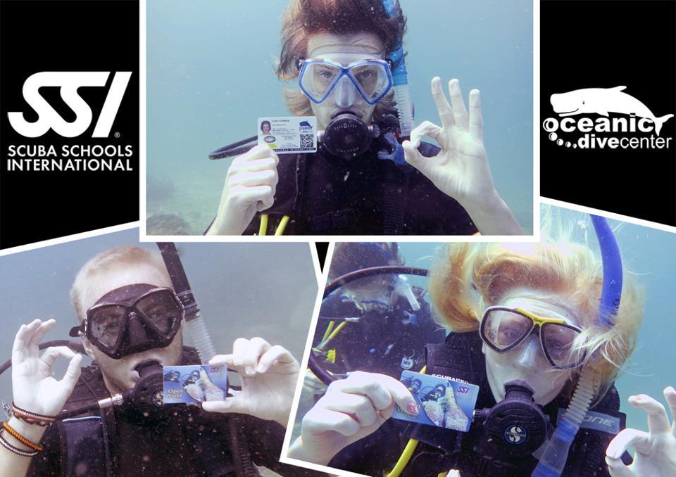 ssi cards underwater