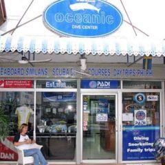 dive shop oceanic dive center phuket