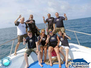 Oceanic Dive Center Team