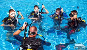 Every SCUBA Instructor at Oceanic is dual-certified, under SSI and PADI