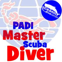 PADI Master Scuba Diver Phuket