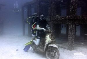 Scuba Diving Motorbike Phuket