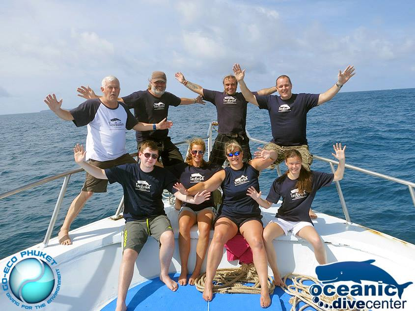 Scuba Diving Phuket Team Oceanic