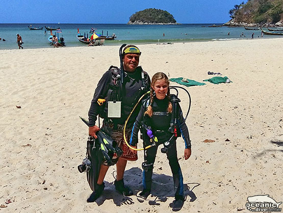 Children's scuba diving Phuket