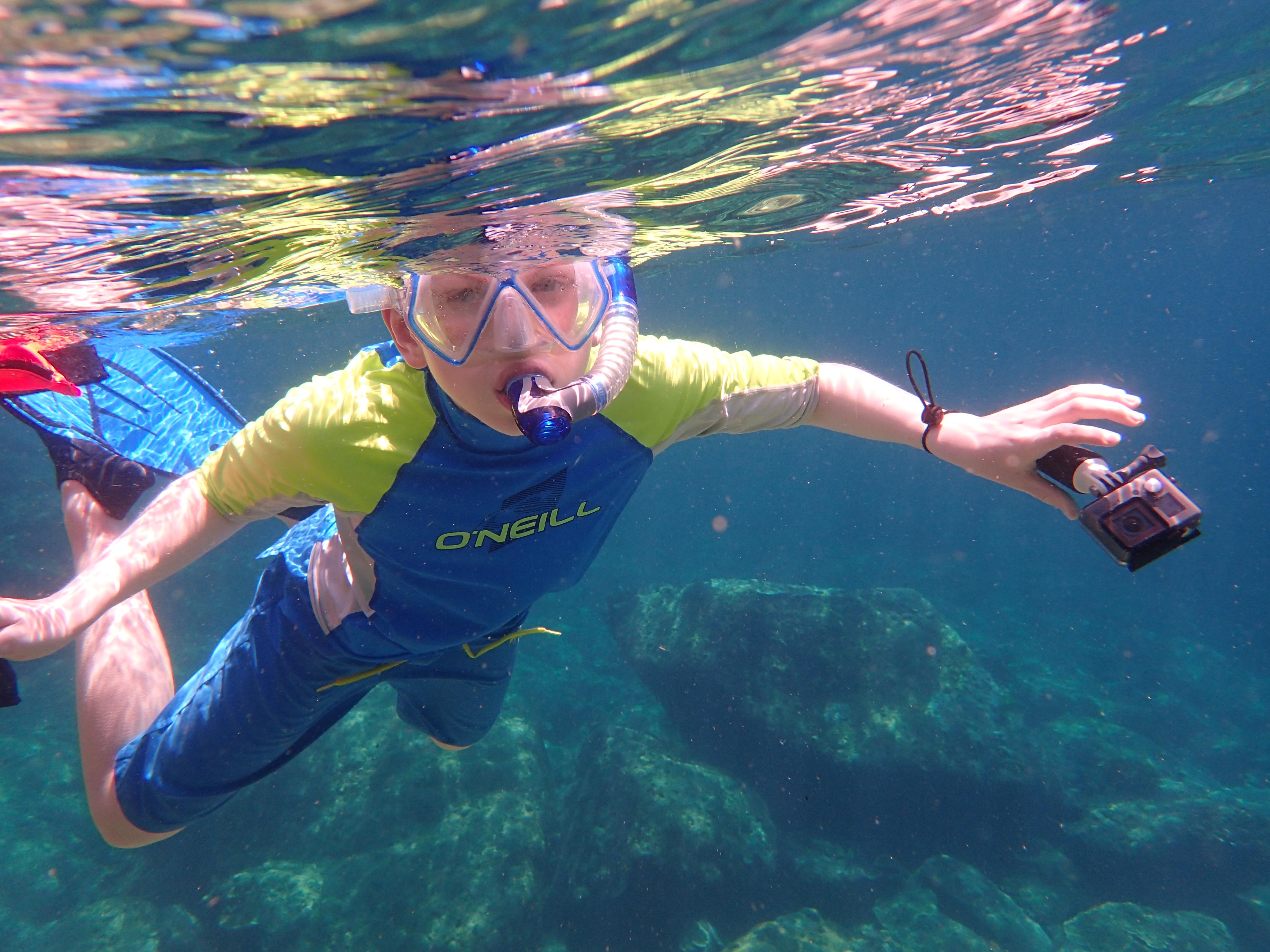 Enjoy snorkeling on virtually any beach